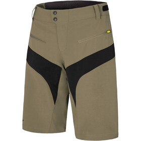 Ziener Nischa X-Function Shorts Hombre, dusty olive